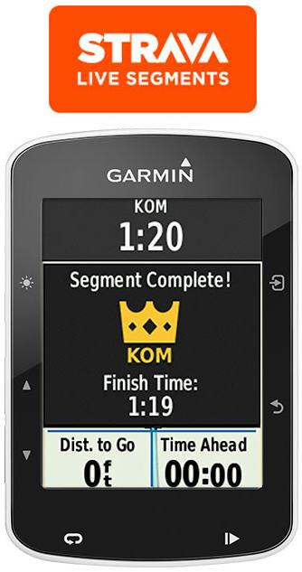 CICLOCOMPUTADOR GPS GARMIN DEPORTE CICLISMO Edge® 520 Bundle Sensores, HRM y Soporte 13